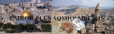 UMROH PLUS AQSHO' MEI 2015