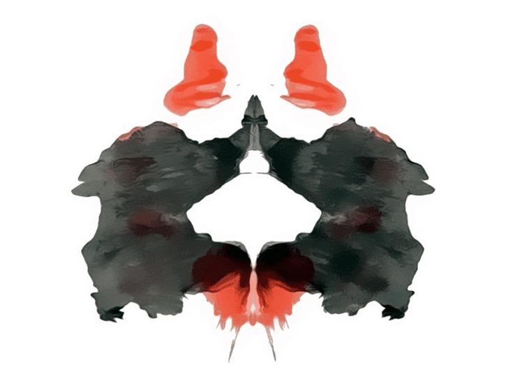 Lámina de Rorschach 2