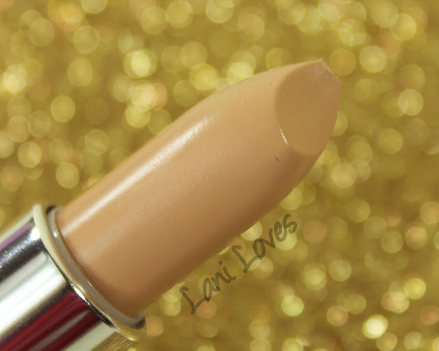 Maybelline Colorsensational Stripped Nudes - Sultry Sand Lipstick Swatches & Review