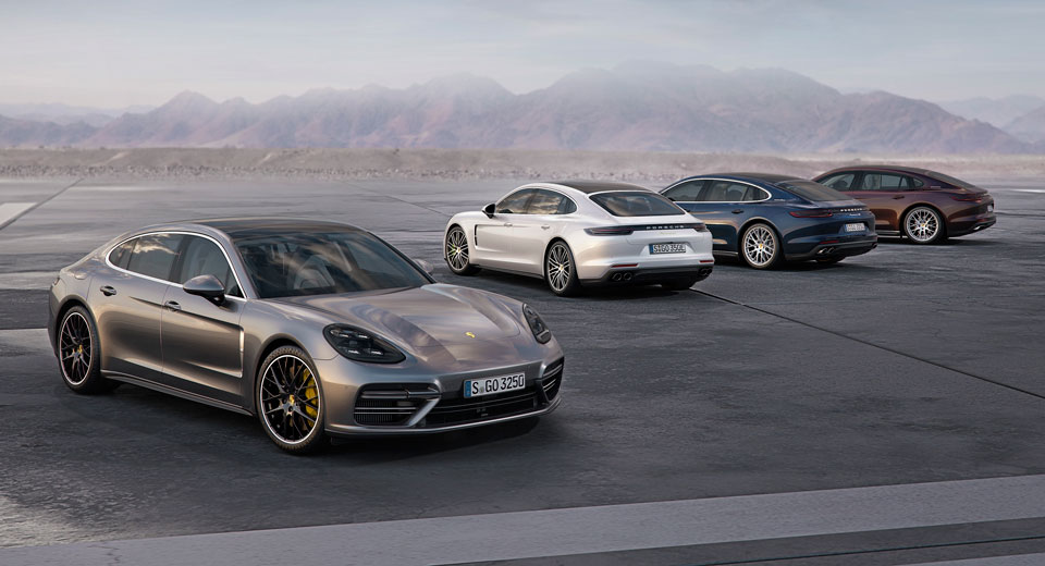 2017 Porsche Panamera Gets EntryLevel V6 Turbo And Stretched