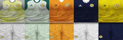 PES 6 Kits Scotland National Team Season 2018/2019 by VillaPilla