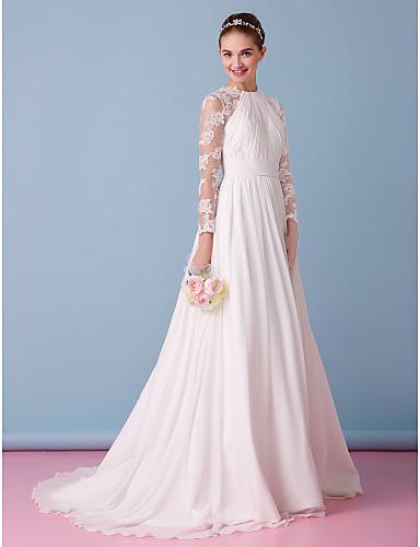 vestidos de novia con manga imagenes