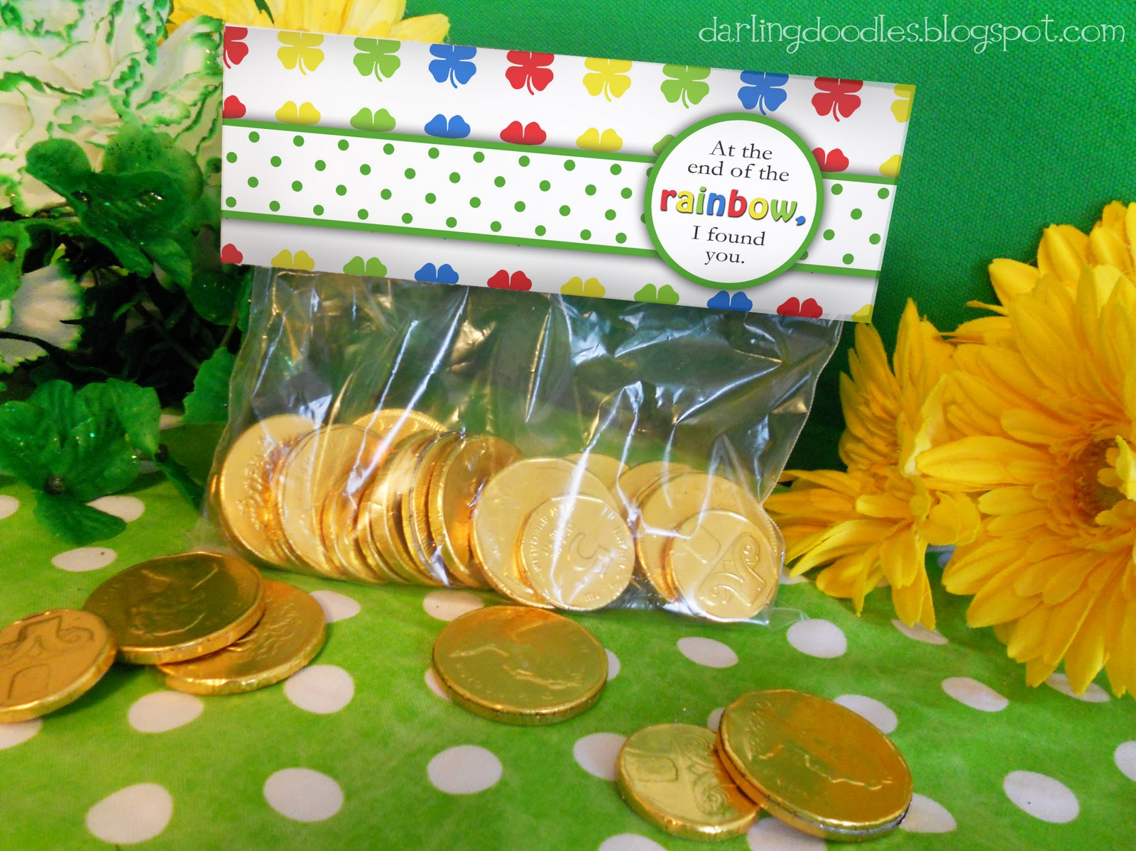 St patricks archives darling doodles st patricks day treat bag toppers negle Gallery