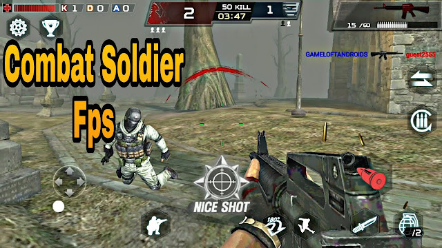 Download Combat Soldier FPS Mod Apk Data Game