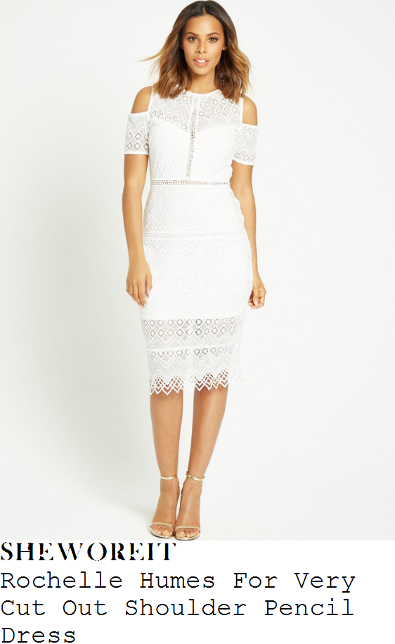 rochelle-humes-rochelle-humes-for-very-white-diamond-geometric-lace-cold-shoulder-pencil-dress