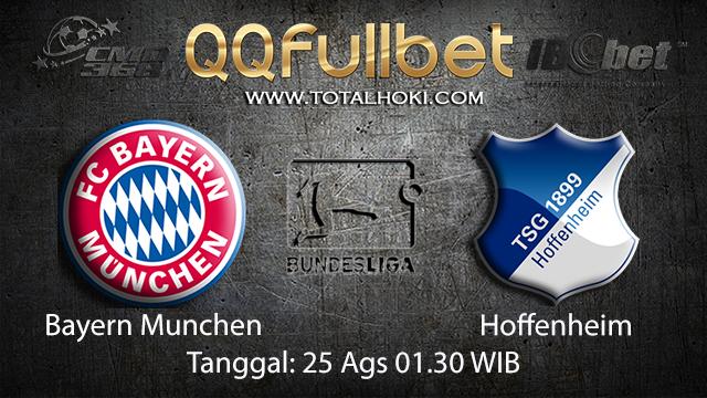 Prediksi Bola Jitu Bayern Munchen vs Hoffenheim ( German Bundesliga )