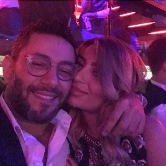 زياد برجي وزوجته في حفل توزيع جوائز موريكس دور 2018