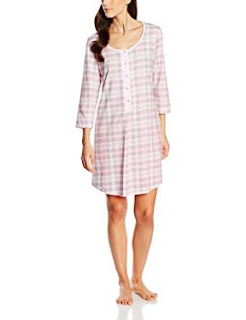 Nightshirts: Italian Fashion IF Maternity Nightdress Atena Pink £10.00 -12.90 (size)