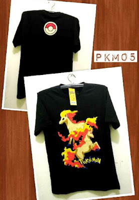 Kaos Distro POKEMON Premium Kode: PKM05