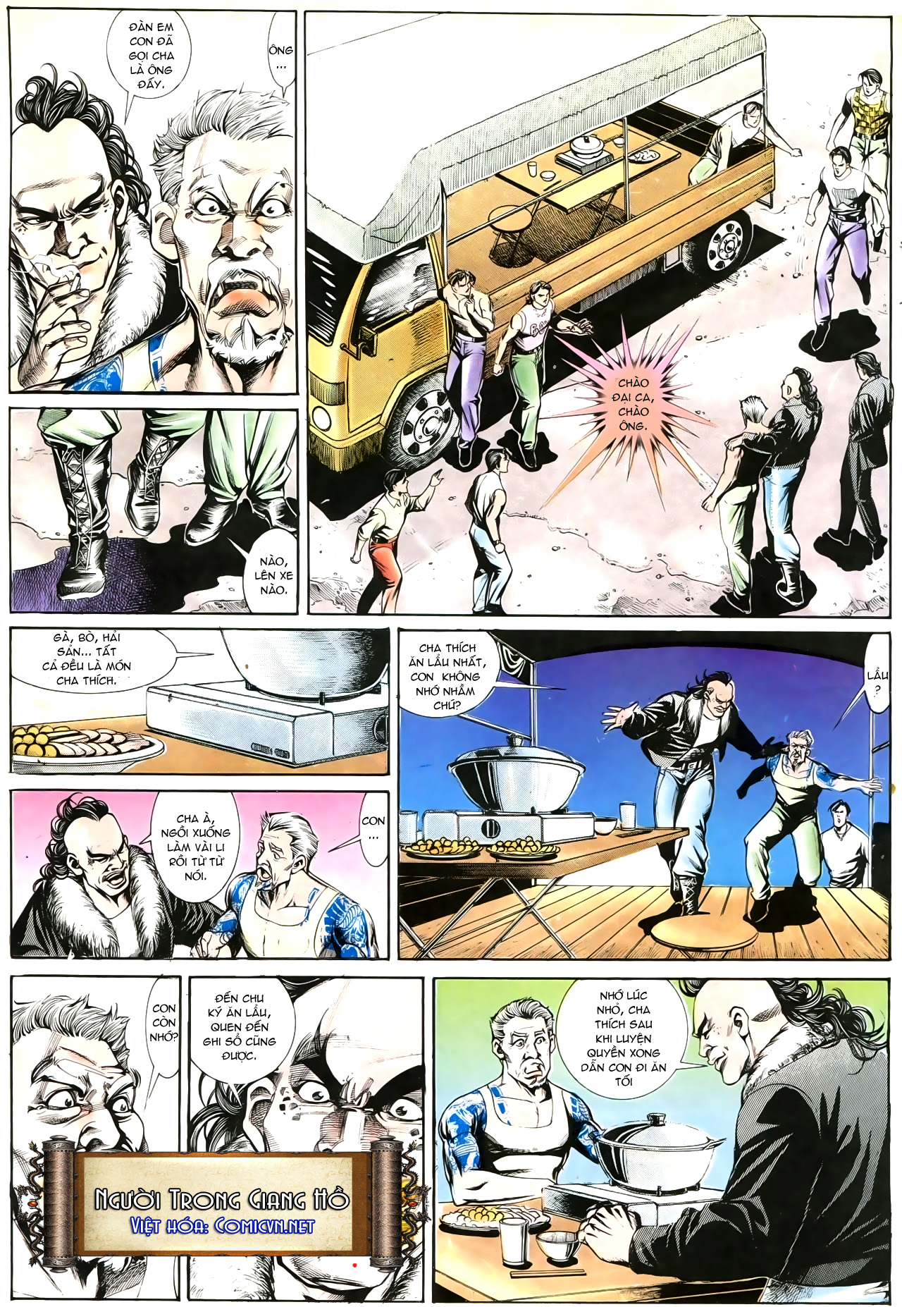 Người Trong Giang Hồ chapter 192: bá khí trúc liên bang trang 18