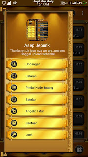 BBM Black Gold Angelic v3.1 Base BBM Tranparent v3.1.0.13 Apk Terbaru