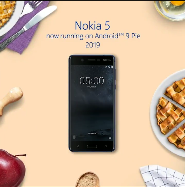 Android Pie available for Nokia 5