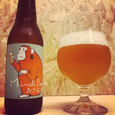 Osaru IPA (Minoh Beer)