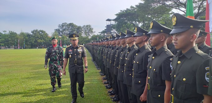 Kasdam Jaya Lantik 340 Tamtama Gelombang II TA 2018