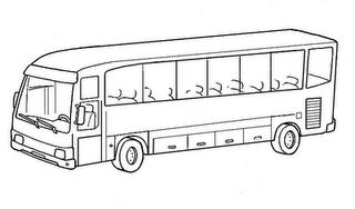 Bus Para Colorear Dibujos Para Colorear Dibujos Para