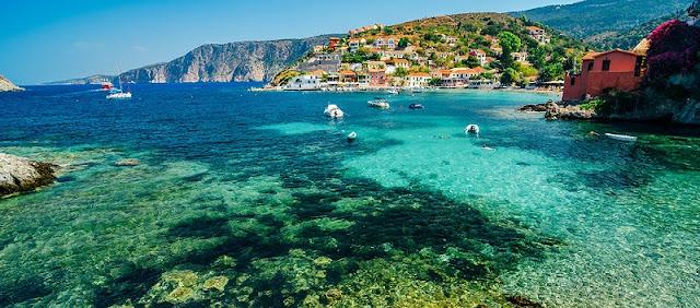 Praias ilha de Cefalônia, Grécia