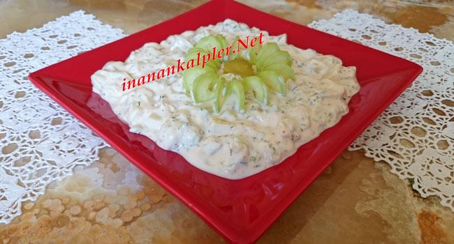 Yoğurtlu Patates Salatası Nasıl Yapılır