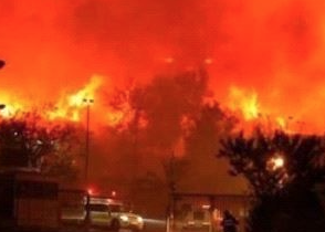 Arab Social Media Ablaze With 'Israel is burning' posts celebrating Fires