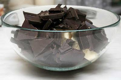 шоколадная мастика торт
