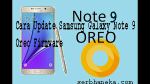 Cara Update Samsung Galaxy Note 9 Oreo Firmware 1