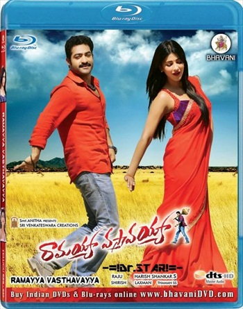 Ramayya Vastavayya 2013 UNCUT Dual Audio Hindi 480p BluRay 500mb