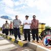 Wagub,Ketua DPRD,Didampingi Kadis Bina Marga Tinjau Jalan BTP Tembus Insinyur Sutami