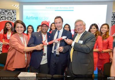 AirAsia chi mạnh tay mua 100 máy bay Airbus A321neo thế hệ mới nhất
