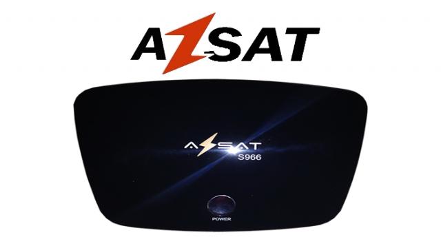 AZSAT S-966 NOVA ATUALIZAÇÃO V1.044 - 23/07/2016