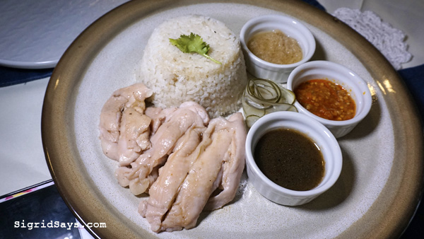 Anne Bistro - Bacolod restaurant - Hainanese chicken rice