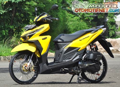 Modifikasi Matic Honda Vario 150 ESP Thailook Keren