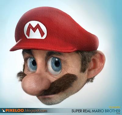 Mario Bros con un aspecto muy real.