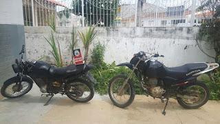 Desmanche de motocicletas é descoberto e desarticulado na zona rural da Paraíba