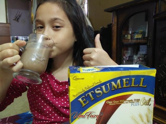 Mujur ada Susu Etsumell yang pelbagai khasiat untuk kita