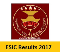ESIC Results 2017