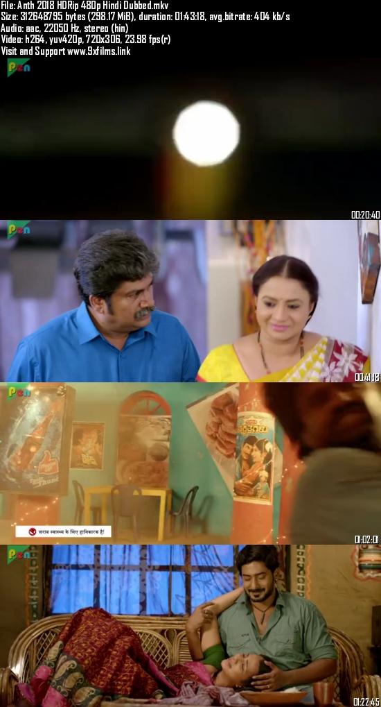 Anth 2018 HDRip 480p Hindi Dubbed