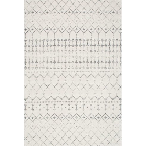 Modern Farmhouse Gray Rug