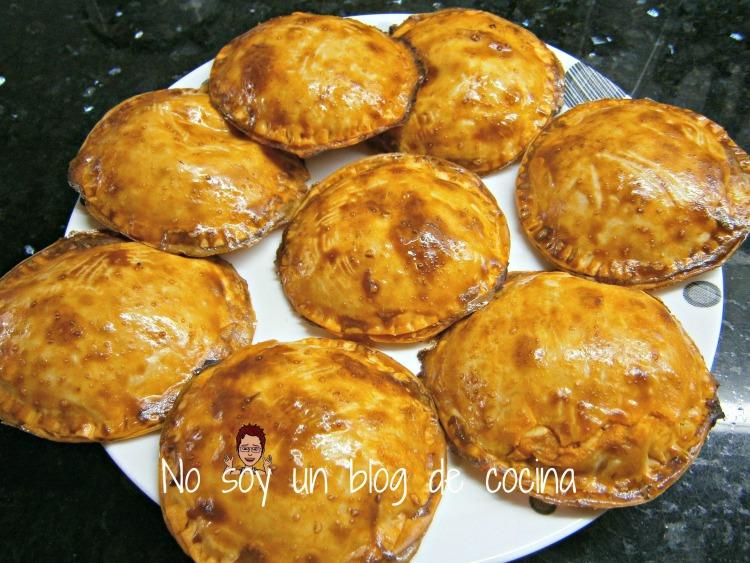 empanadillas hechas al horno