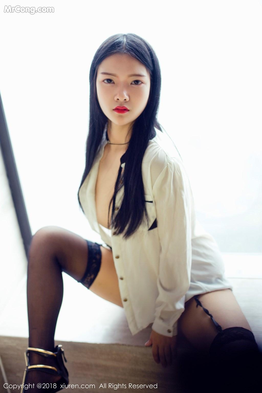 Image XIUREN-No.1008-Ling-Xi-Er-MrCong.com-007 in post XIUREN No.1008: Người mẫu Ling Xi Er (凌希儿) (44 ảnh)