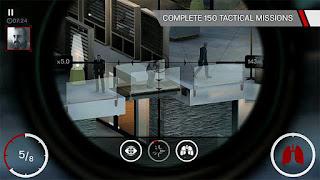 Hitman: Sniper Mod Apk 1.7.88009 Gratis Terbaru 2017