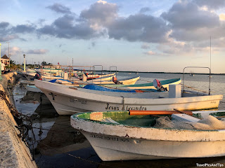 Village de pêcheurs de Rio Lagartos au Mexique