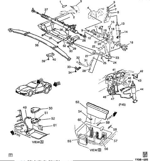 Repair Manuals Chevrolet Corvette 1997 2002 Catalog