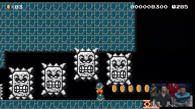 Buzzy Beetle Surfing Super Mario Maker
