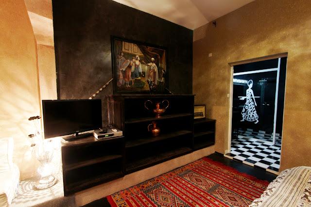 Otro punto de vista de la habitación del riad Ksar Aylan