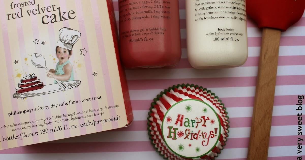 Philosophy Red Velvet Cake Review