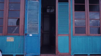 Pesona Rumah Kuno Kampung Al-Munawar, Palembang