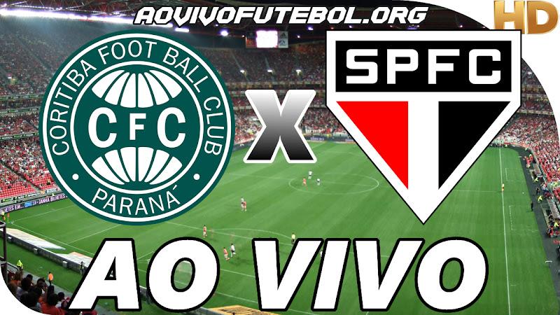 Coritiba x São Paulo Ao Vivo na TV HD