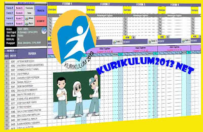 Aplikasi Penilaian Kurikulum 2013 Revisi Untuk SMA Dan MA Berbasis Excel