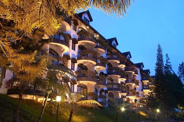 Hotel percutian keluarga terbaik di Cameron Highland