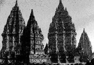 Candi Prambanan di Jawa Tengah