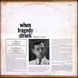 Hank Snow - When Tragedy Struck